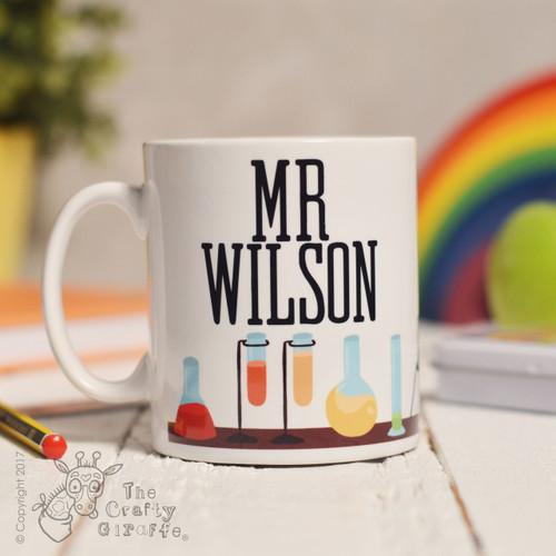 Personalised Science Mug