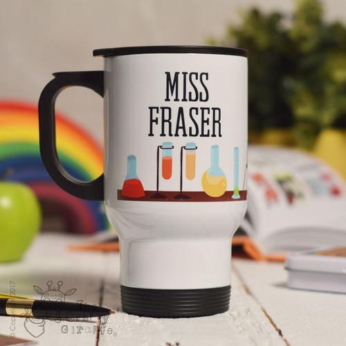 Personalised Science Travel Mug