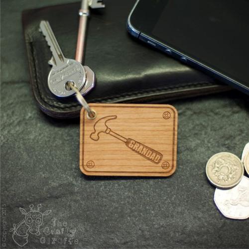 Personalised Hammer Keyring