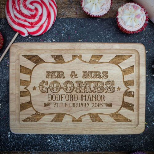 Personalised Carnival Style Board