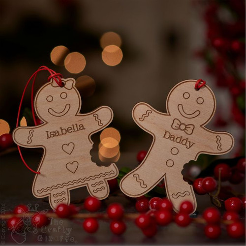 Personalised Eaten Gingerbread Men