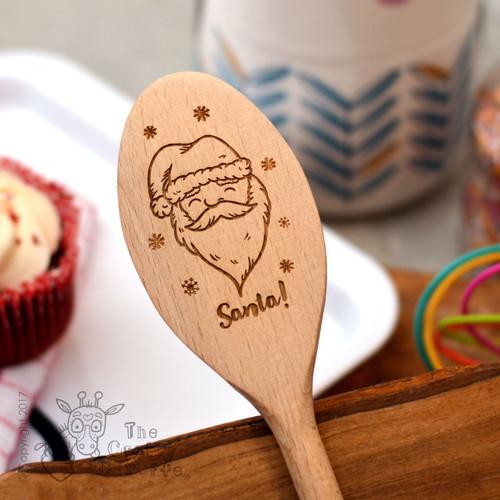 Personalised Santa Spoon