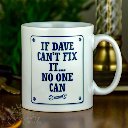 Personalised Mug -  Fix it
