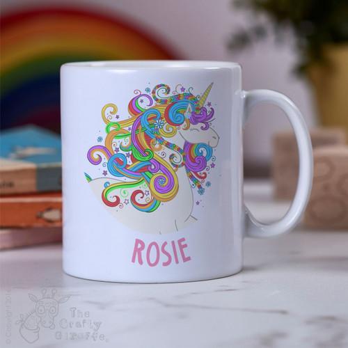 Personalised - Unicorn Mug