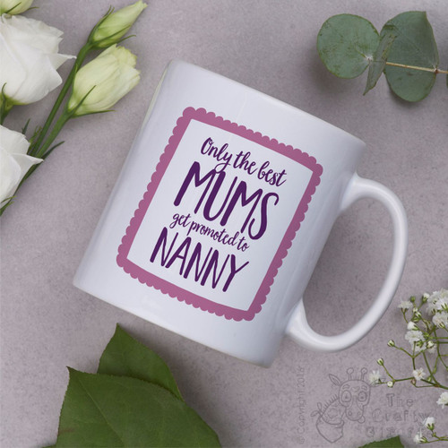 Only the best mums get promoted to… Mug - Pink