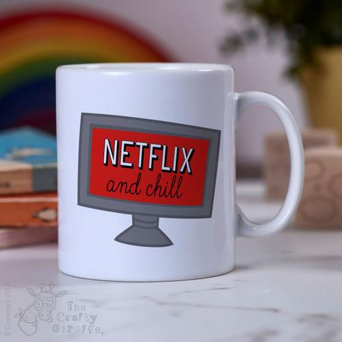 Netflix and Chill Mug