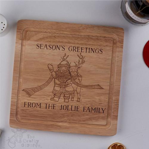 Personalised - Season's Greetings board