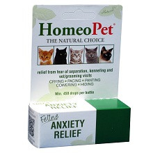 Homeopet Feline Anxiety - 15 ml