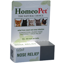 Homeopet Feline Nose Relief - 15 ml