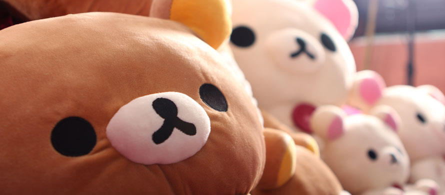 Rilakkuma Cushions and Plushes
