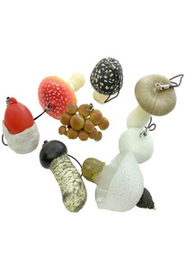 Mushroom Soft Rubber Charm Blind Box