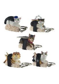 Sushi Cat (Nekozushi) Keyring Blind Box Version 2