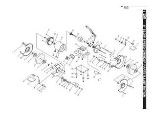 KEY#16 BGSS801016 Left wheel inner guard