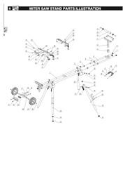 MT4000 Handle screw set, G, I, J, K, L