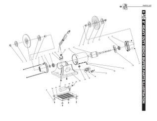 KEY#31 BF600031 Philips screw + Flat washer M4x12