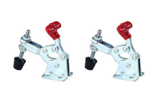 20320 Vertical Quick-Release Toggle Clamp, 150 lbs Capacity, 13005, 2-Pack