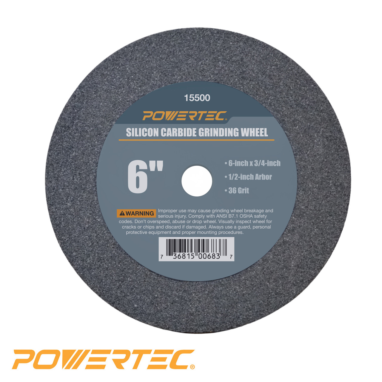 Silicon Carbide Grinding Wheel 6 Inch By 3 4 Inch 1 2