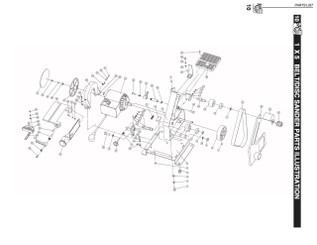 BD1500HA Handle assembly (Key#32 through 34)