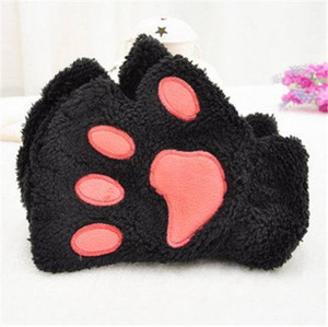 Kitty Paw Fingerless Gloves
