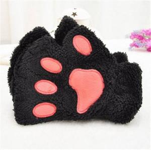 Kitty Paw Fingerless Gloves