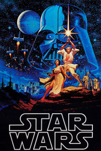 """Star Wars Episode IV: A New Hope 12x18"""" Poster"""