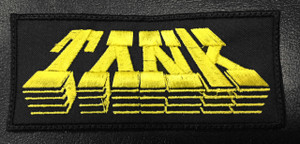 "Tank - Logo 5x2"" Embroidered Patch"
