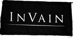 "In Vain - Logo 8x4"" Printed Patch"