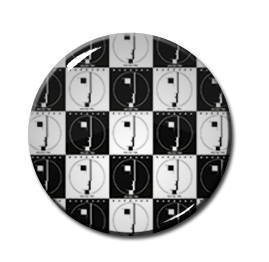 """Bauhaus - Mosaic 2.25"""" Pin"""