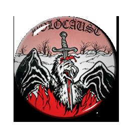 "Holocaust - Heavy Metal Mania 2.25"" Pin"