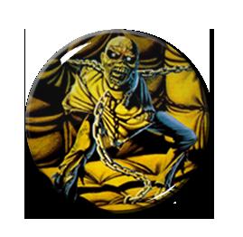 """Iron Maiden - Piece of Mind 2.25"""" Pin"""