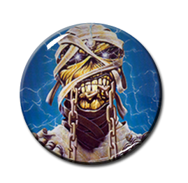 """Iron Maiden - World Slavery Tour 2.25"""" Pin"""