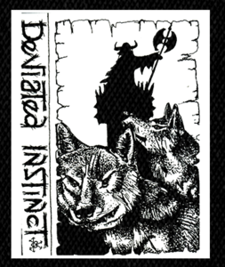"Deviated Instinct - Logo 5x6.5"" Printed Patch"