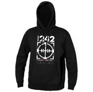 Front 242 - Tiranny for you Hooded Sweatshirt