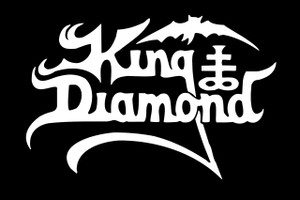 "King Diamond 6x4"" Printed Sticker"