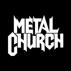 "Metal Church - Logo 4x4"" Printed Sticker"
