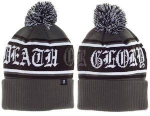 Sourpuss - Death or Glory Pom Knit Hat