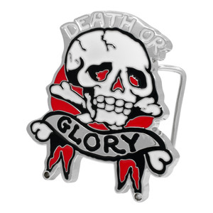 Death Or Glory Belt Buckle