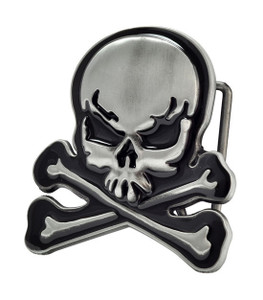Skull & Crossbones Belt Buckle