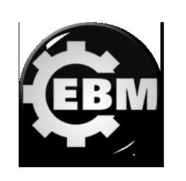 """EBM 1"""" Pin"""