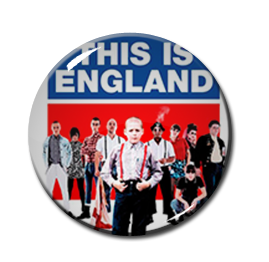 "This is England 1"" Pin"