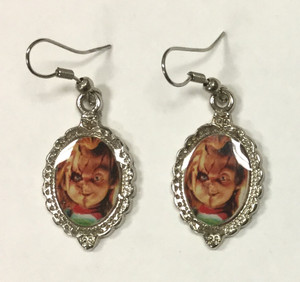 Chucky Cameo Earrings