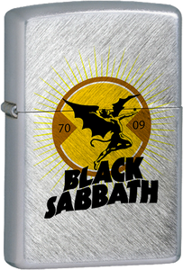 Black Sabbath - Demon Chrome Lighter