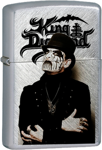 King Diamond Chrome Lighter