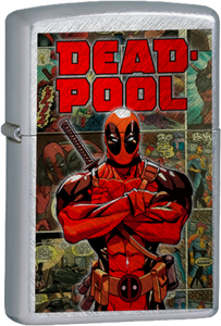 Deadpool Chrome Lighter