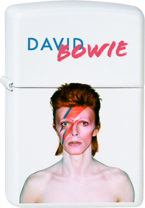 David Bowie - Aladdin Sane White Lighter