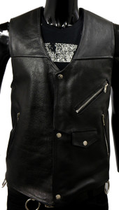 Solo Piel - Black Country Leather Vest
