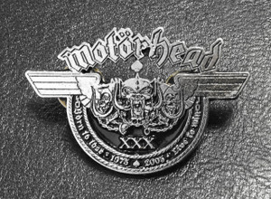 "Motorhead - Born to Lose 2"" Metal Badge Pin"