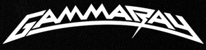 "Gamma Ray - Logo 7x3"" Printed Patch"