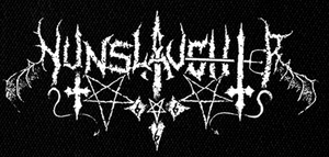 "Nunslaughter - Logo 7x4"" Printed Patch"