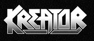 "Kreator - Logo 6x3"" Printed Patch"